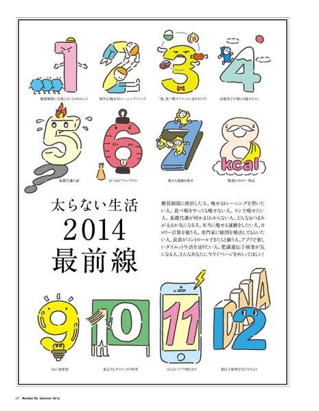 文藝春秋「NumberDo」トビラ2
