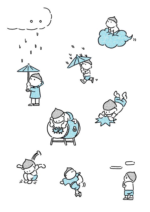 アマタツさん、ネコが顔を洗うと雨が降るって本当ですか?
